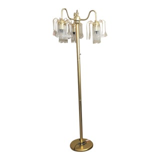 Hollywood Regency Style Stand Up Lamp For Sale