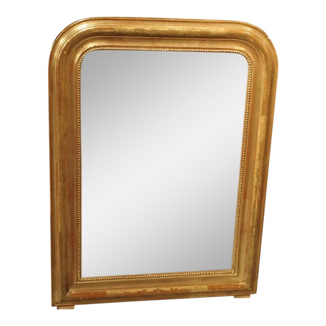 19th Century French Louis Philippe Giltwood Mirror For Sale - Image 11 of 11