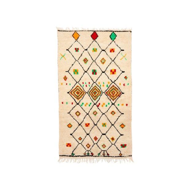 Vintage Azilal Handwoven Rug - 4′5″ × 8′ - Image 1 of 2