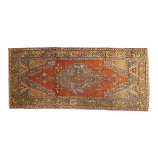 "Vintage Anatolian Rug Runner - 4'3"" x 9'10"""