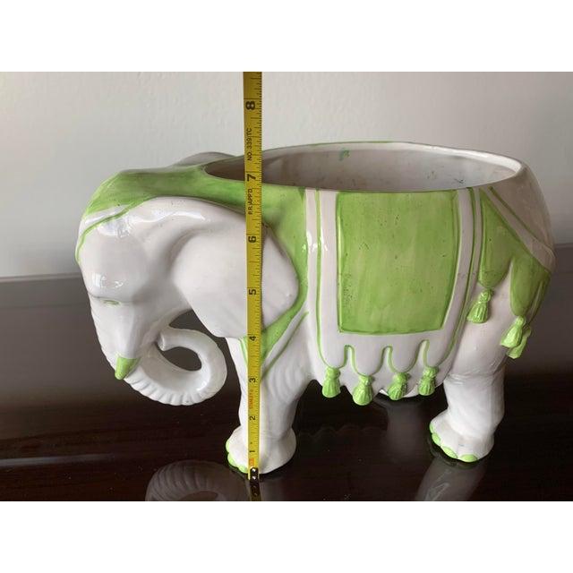 1970s Vintage Elephant Planter For Sale - Image 9 of 12