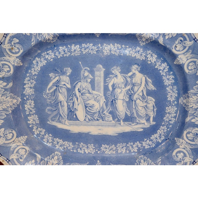 """Victorian 1830s """"Etruscan"""" Platter For Sale - Image 3 of 6"""