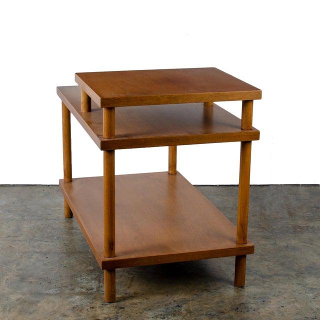 t.h. Robsjohn-Gibbings for Widdicomb Step Side Table For Sale In Savannah - Image 6 of 11