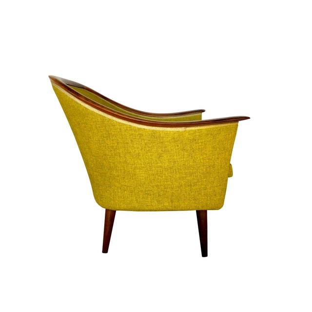 Fredrik Kayser for Vatne Møbler Teak and Rosewood Sofa and Lounge Chair Living Room Set - Mid Century Danish Modern Scandinavian For Sale - Image 9 of 13