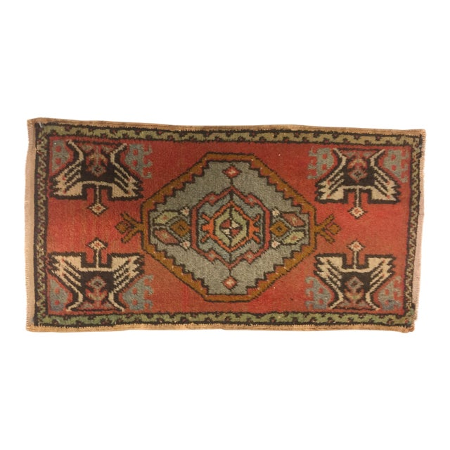 "Anatolian Tribal Handmade Carpet - 1'7"" x 3' - Image 1 of 6"