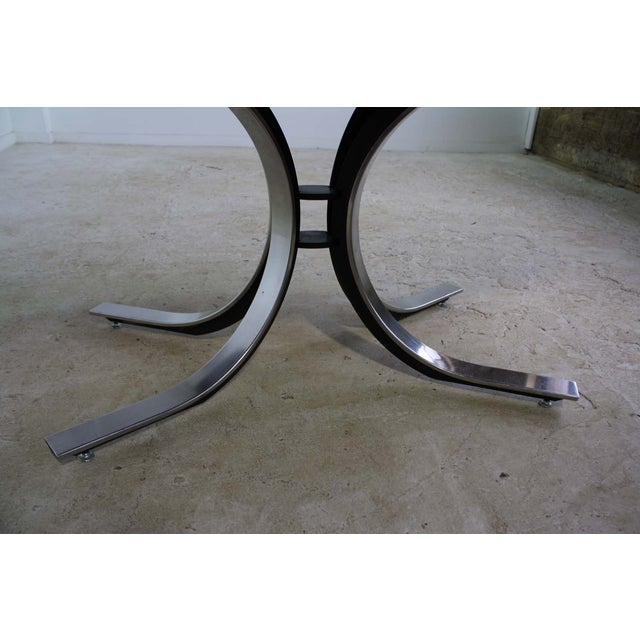 Borsani Dining Table Starburst Wood Top - 5 Avail. For Sale - Image 7 of 9