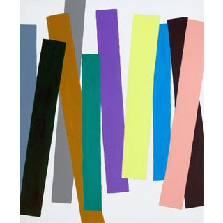 Wig Trig Contemporary Abstract Painting For Sale