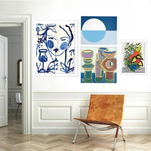 Abstract Bridgehampton Gallery Wall, Set of 4 For Sale - Image 3 of 9