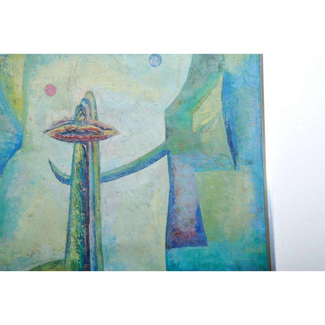 Latin American Abstract Surrealist Original Painting For Sale In San Diego - Image 6 of 6