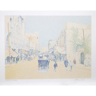 Guillaume Azoulay, Rue De L'Horlogue, Serigraph For Sale