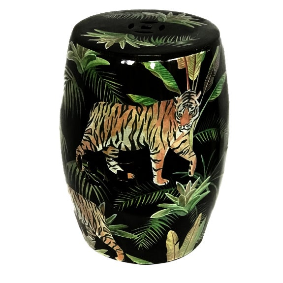 African Jungle Garden Seat For Sale