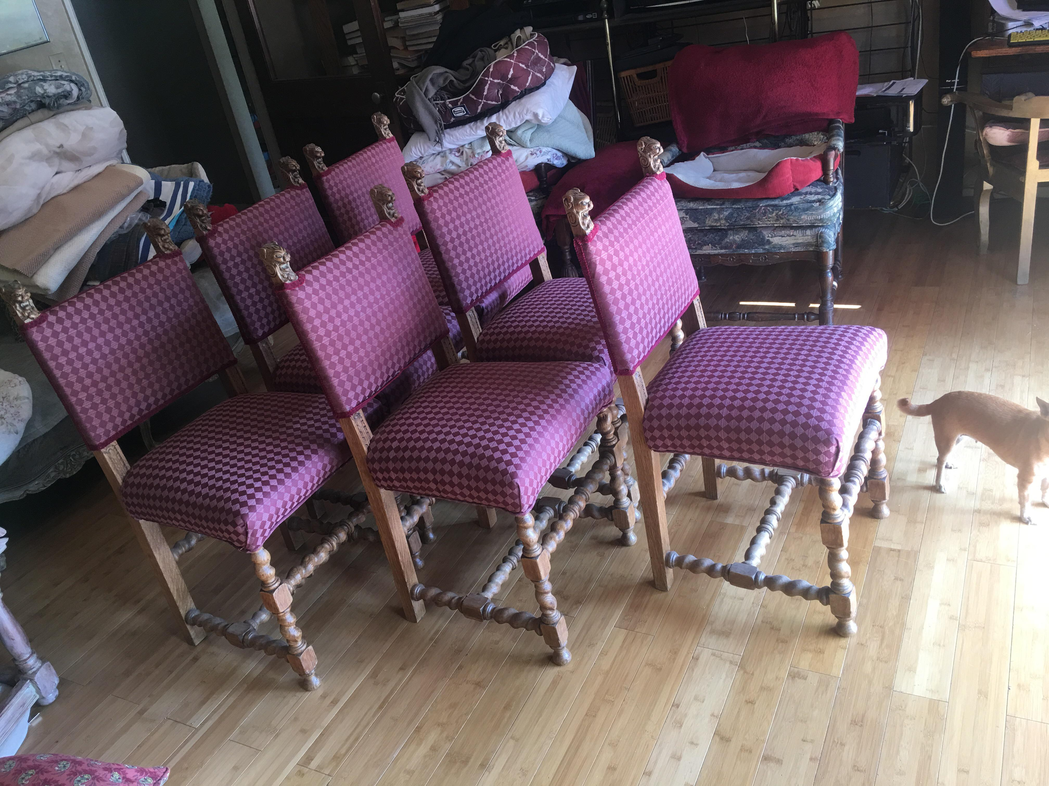 Dining Room Chairs With Lion Head