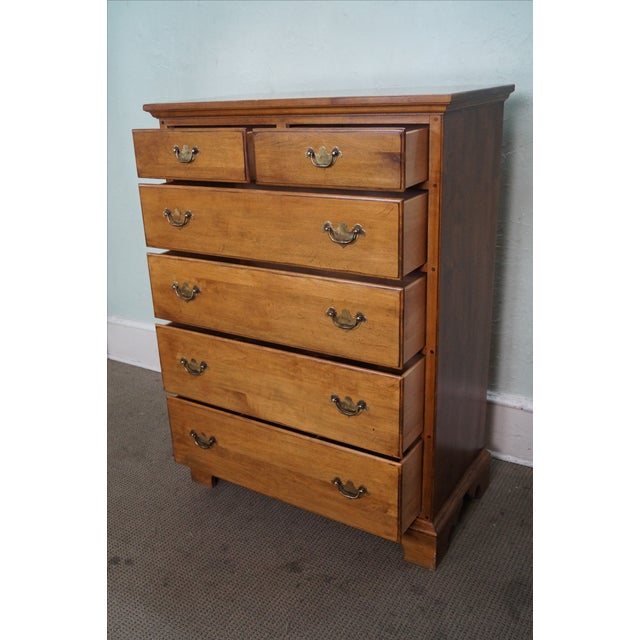 Ethan Allen 1776 Collection Tall Chest For Sale In Philadelphia - Image 6 of 10