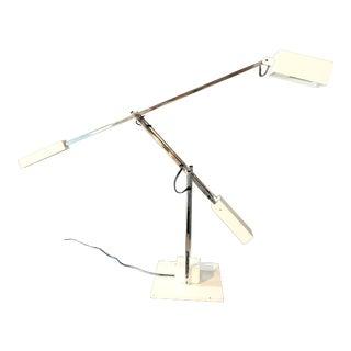 1960s Robert Sonneman Articulating Task Lamp For Sale