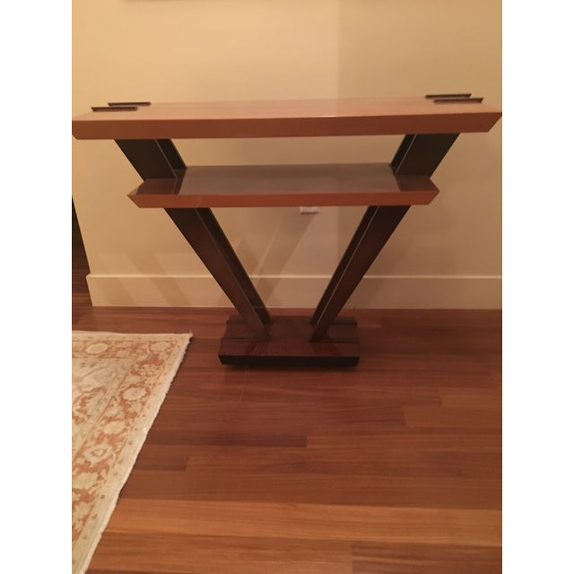 Art Deco Triangle Console - Image 2 of 4