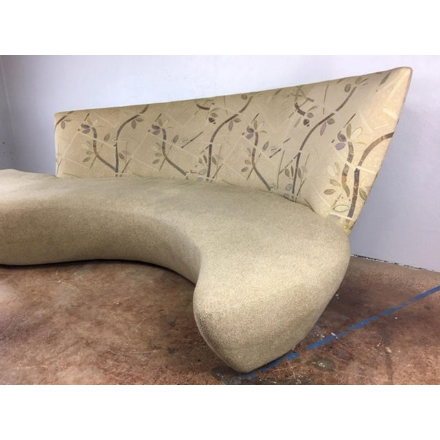 Vladimir Kagan Biboa Serpentine Sofa - Image 5 of 10