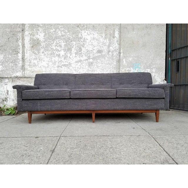 Gray Mid-Century Style Sofa - Image 2 of 7