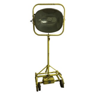 Vintage Industrial Stage Light For Sale