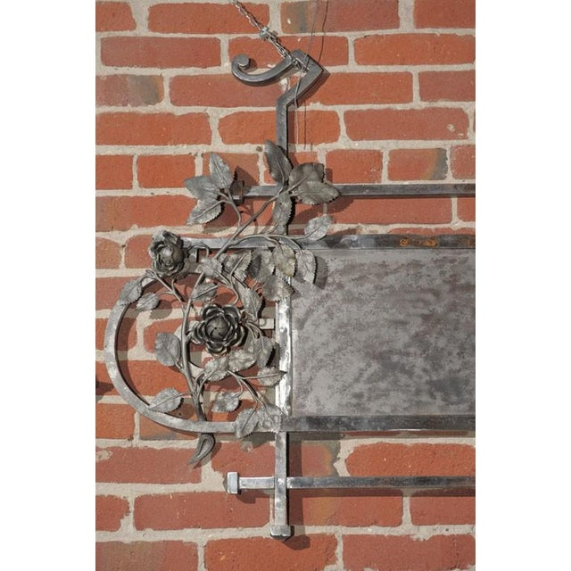Chromed Iron Hanging Sign - Image 4 of 9