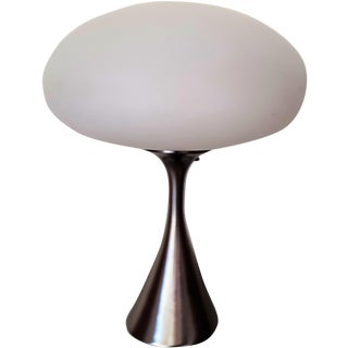 Laurel Original Hand Blown Glass Mushroom Lamp For Sale