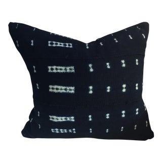 Shibori Indigo Mudcloth Pillow