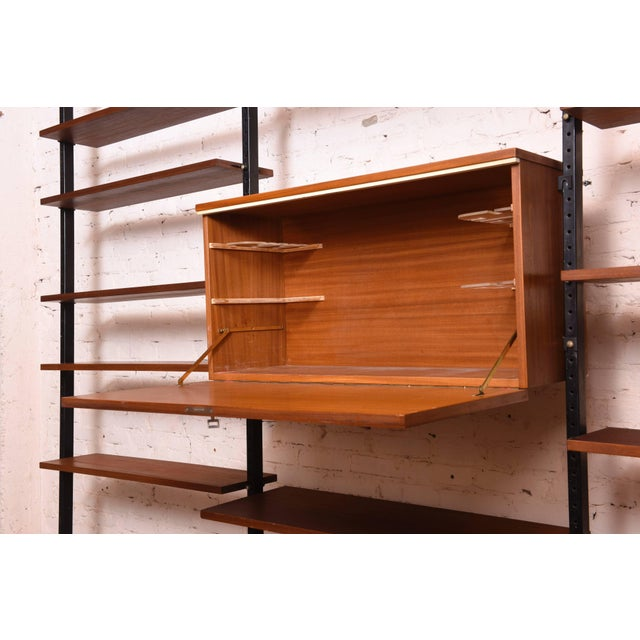 Danisch Modular Bookcase Royal System Wall Unit For Sale - Image 6 of 9