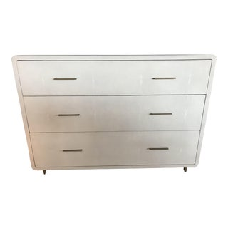 Faux Shagreen Chest of Drawers