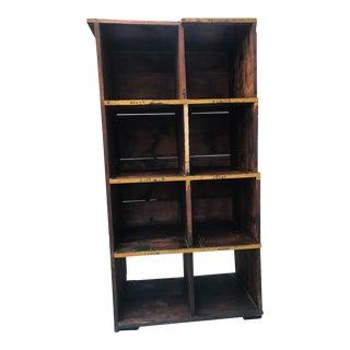 Industrial Style Vintage Shelf For Sale