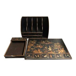 Horchow Desk Accessories - Set of 3 For Sale