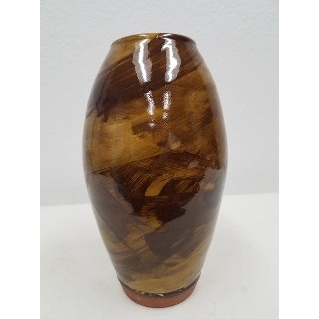 Vintage Wetherigg Pottery Vase For Sale - Image 4 of 13