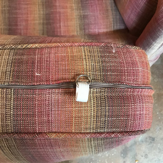 Custom Linen Sofa - Image 9 of 9