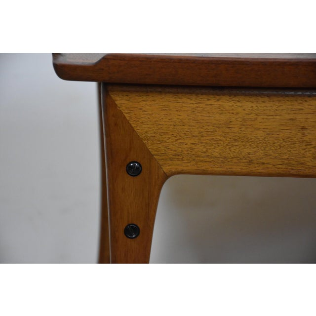 Ingvard Jensen Rolling Teak Bar Cart - Image 10 of 11