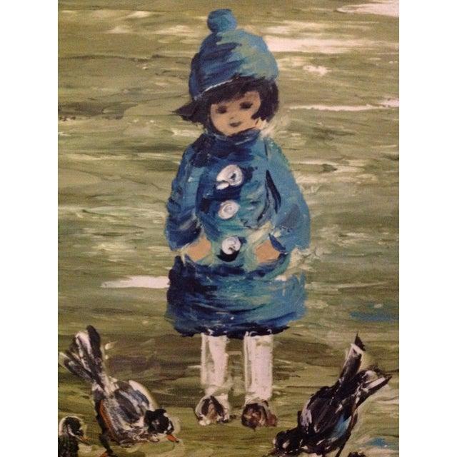 Estacien J. Benjamin Hillside Original Painting - Image 4 of 8