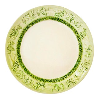 Italian Hand-Painted Serving Platter For Sale