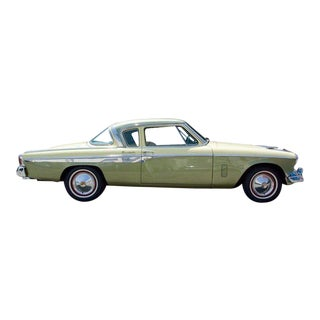 Studebaker President 1955, Collector Car Yellow and Lime Green For Sale