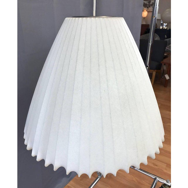 Contemporary Vintage George Nelson for Howard Miller Bell Pendant Lamp For Sale - Image 3 of 10