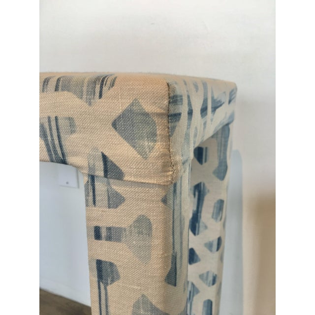 Ceramic Parsons Console & Bench For Sale - Image 7 of 8