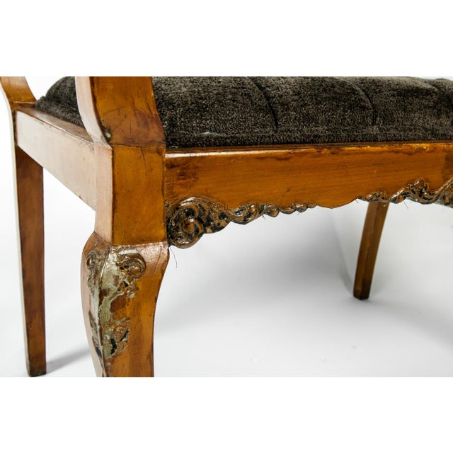 Antique French Entry Bench For Sale In New York - Image 6 of 7