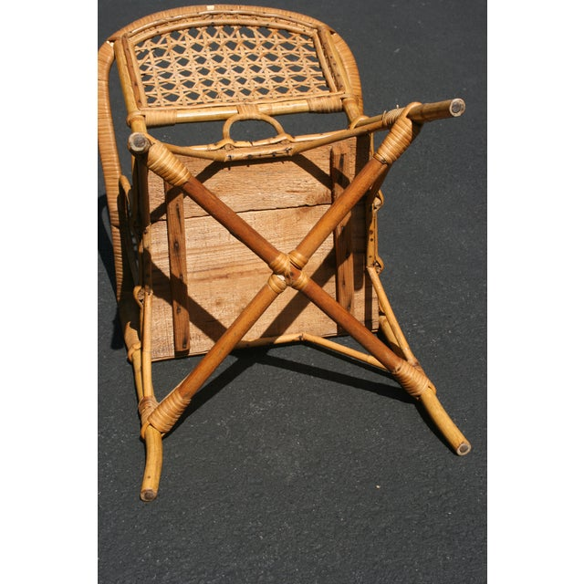 Early 20th Century Antique Children's Cane Chair For Sale - Image 4 of 10