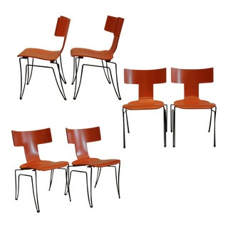 Anziano Chairs by John Hutton for Donghia-Price Is Per Chair For Sale