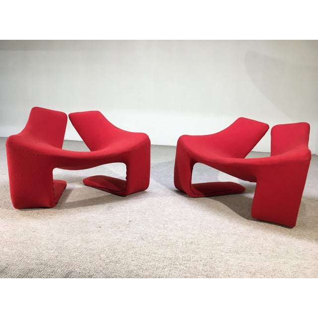 "Contemporary Kwok Hoi Chan for Steiner Paris ""Zen"" Lounge Chairs - A Pair For Sale - Image 3 of 6"