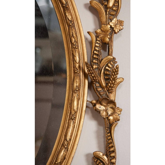 George III Style Giltwood Girandole Mirror For Sale - Image 10 of 11