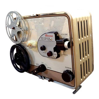 Eastman Kodak Company Circa 1950s, 8mm Movie Projector. Gorgeous for Home or Office Display. For Sale