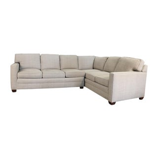 Modern American Bungalow Collection Vanguard Sectional Sofa For Sale