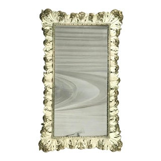 19th Century Italian Baroque Painted Mirror For Sale
