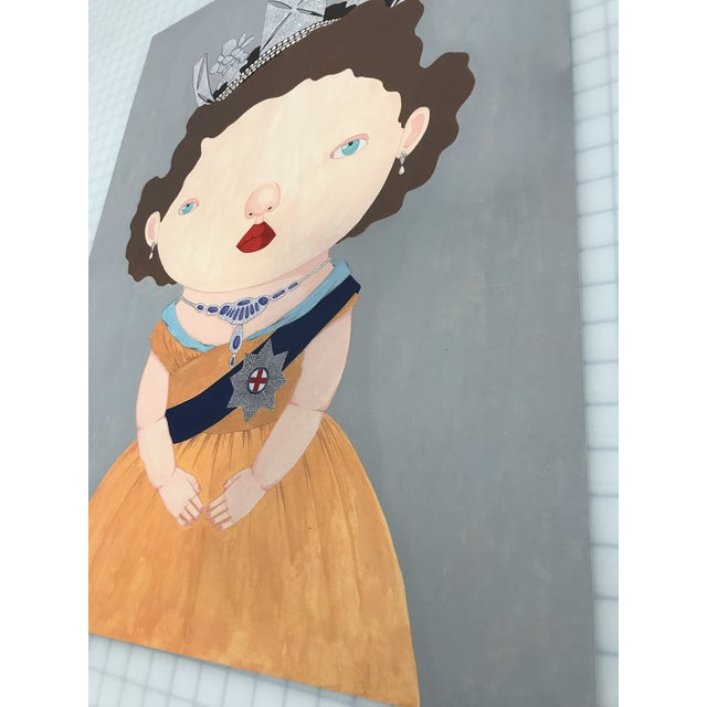 """2010s """"The Last Reigning Queen """" Print by Charles Benton For Sale - Image 5 of 9"""