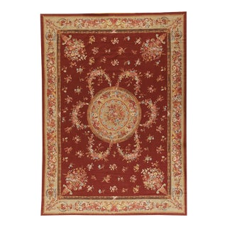 """Pasargad Aubusson Hand Woven Wool Rug - 10' 3"""" X 14' 0"""""""