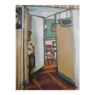 Important French Cubist Painting by Eugene de Kermadec For Sale