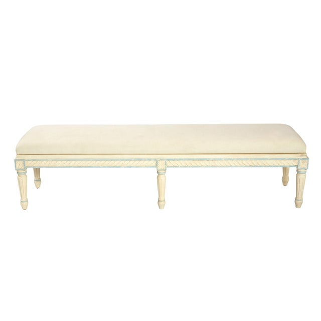 French Style Long Bench - Image 2 of 2