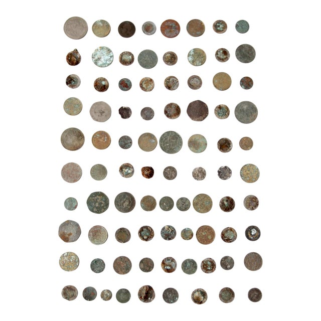 Vintage Oxidized Coin Collection For Sale